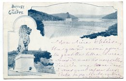CPA - Carte Postale - Belgique - Barrage De La Gileppe - 1899 (B8809) - Gileppe (Barrage)