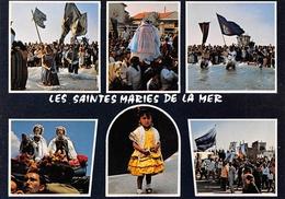 Les SAINTES-MARIES-de-la-MER - Images De La Procession Des Saintes - Gitans - Saintes Maries De La Mer