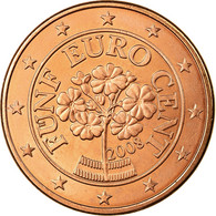 Autriche, 5 Euro Cent, 2008, SPL, Copper Plated Steel, KM:3084 - Autriche