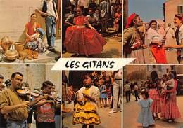 Les SAINTES-MARIES-de-la-MER - Gitans Et Gitanes Le Jour De La Procession - Violonistes - Saintes Maries De La Mer