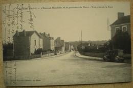 1 CPA 36 LE BLANC L'avenue Gambetta Et Le Panorama Du Blanc Vue Prise De La Gare - Le Blanc