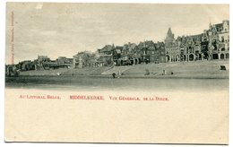 CPA - Carte Postale - Belgique - Middelkerke - Vue Générale De La Digue - 1901 (B8811) - Middelkerke