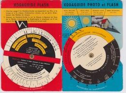 DOCUMENTATION POUR APPAREIL PHOTOGRAPHIQUE - KODAK  KODAGUIDE PHOTO ET FLASH - Zubehör & Material