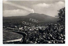 Etna Vista Da Paternò Viaggiata 1952 ## - Catania