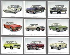 D500 - SERIE 9 CARTES GOLDEN ERA - BMW CLASSIC - Voitures