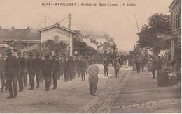 57 - AVRICOURT - IGNEY - ARRIVEE DES SAINT CYRIENS - LOCOMOTIVE A VAPEUR - Otros Municipios