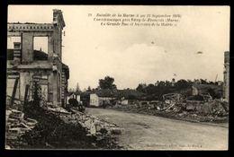 51 - COURDEMANGES (Marne) - La Grande Rue Et Les Restes De La Mairie - Other Municipalities
