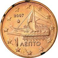 Grèce, Euro Cent, 2007, SPL, Copper Plated Steel, KM:181 - Grèce