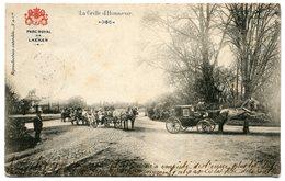 CPA - Carte Postale - Belgique - Bruxelles - Parc Royale De Laeken - La Grille D'Honneur - 1903 (B8813) - Forêts, Parcs, Jardins