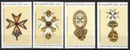 SMOM - 2004 - FOGGIA DELLE ANTICHE INSEGNE DELL'ORDINE - MNH - Sovrano Militare Ordine Di Malta