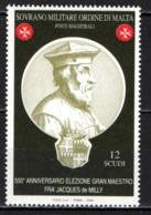 SMOM - 2004 - GRAN MAESTRO FRA' JACQUES DE MILLY - MNH - Sovrano Militare Ordine Di Malta