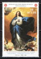 SMOM - 2004 - L'IMMACOLATA CONCEZIONE - 150° ANNIVERSARIO DEL DOGMA - MNH - Sovrano Militare Ordine Di Malta