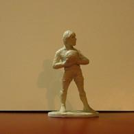 Rubber Figure Football Stars Made In Portugal Walter Zenga 8cm Tall - Figurillas
