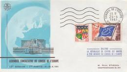 CE296 24/4/61  - 12ème Session Du Conseil De L'Europe (la République De Chypre Est Invitée)   TTB - European Ideas