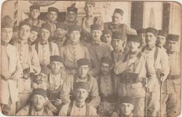 Rare Carte Photo D'un Groupe De Zouaves - 1914-18