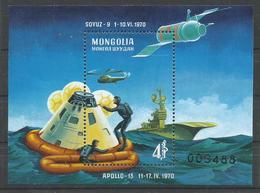 MONGOLIA YVERT  H/B  23  MNH  ** - Mongolia