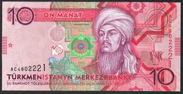 Turkmenistan 10 Manat 2009 UNC - Turkmenistan