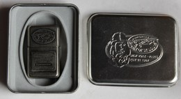 Briquet à Essence Spirit Of Saint Louis Aviation Charles Lindbergh Paris New York Type Zippo Limited Edition - Other