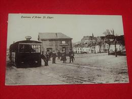 SAINT LEGER   - Arrêt Du Tram - Saint-Leger