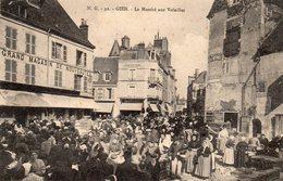 45 -GIEN -- 'Le Marché Aux Volailles', édit:N.G. - Gien