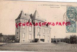85- LA MOTHE ACHARD- CHATEAU DE BRANDOIS  FACADE PRINCIPALE - La Mothe Achard