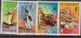St. Lucia Carnevale Set MNH - Carnevale