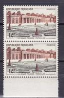N° 1059 Grand Trianon De Versailles:: Belle Paire De 2 Timbres  Neuf Impeccable - Ongebruikt