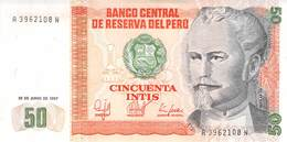 50 Intis Peru 1987 UNC - Peru