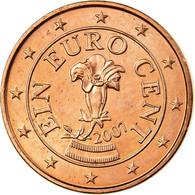 Autriche, Euro Cent, 2007, SPL, Copper Plated Steel, KM:3082 - Autriche