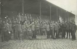 CARTE PHOTO - Saint Cyr L'école,militaires En 1913. - Regimente