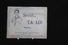 F-112 / Scoutisme - Scout... TA LOI - Carnet De 10 Cartes Postales - Ed: Scouts Du Pontia, Huy - Scoutisme