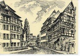 COLMAR - LA RUE DES TANNEURS - Colmar