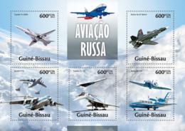 Guinea Bissau 2013 Russian Aviation Airplanes - Guinea-Bissau