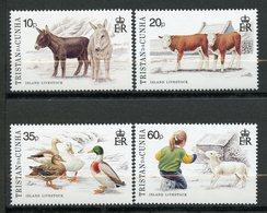 Tristan Da Cunha, Yvert 544/547, MNH - Tristan Da Cunha