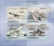 Guinea Bissau 2013 Concorde Air France And British Airways - Guinea-Bissau