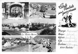 Les SAINTES-MARIES-de-la-MER - Les Saintes - Maison Camarguaise - Camping - Vue Générale - Plage - Saintes Maries De La Mer