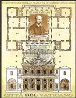Vatican Vatikaanstad 2008 Yvertn° Bloc 33 (°) Oblitéré Used Cote 8,50 Euro Archtitecte Andrea Palladio - Blocs & Feuillets