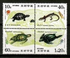 Korea North 1998 Corea / Reptiles Turtles MNH Tortugas Schildkröten / Cu12903  41-41 - Tortugas