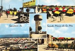 Souvenir Des SAINTES-MARIES-de-la-MER - Vues Multiples - Camping La Pergola - Saintes Maries De La Mer