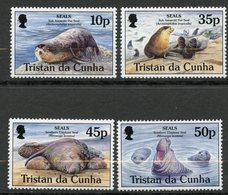 Tristan Da Cunha, Yvert 560/563, Scott 572/575, MNH - Tristan Da Cunha