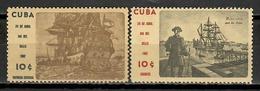 Cuba 1962 / Ships Stamp Day MNH Barcos Bateaux Schiffe / Cu11717  C1-16 - Barcos