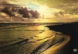 Coucher De Soleil Sur La Mer (2 Scans) - Halt Gegen Das Licht/Durchscheink.