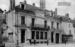 3028 Cpa Issoudun - Hôtel Des Postes - Issoudun