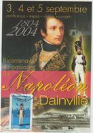 Carte-Maximum FRANCE N° Yvert 3684 (GRENADIER A PIED) Obl Sp Ill Dainville RR - Maximum Cards