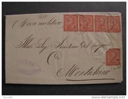 """2317 ITALIA Regno-1866- """"T 15 Torino"""" C. 2 BUONCONVENTO>MONTALCINO (descrizione) - Marcophilie"""