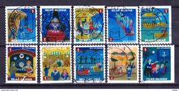 België 2011 Kleine Verzameling Nr 4115/24 G, Zeer Mooi Lot Krt 3766 - Timbres