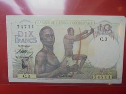 AFRIQUE FRANCAISE 10 FRANCS 1946 CIRCULER (B.2) - Congo