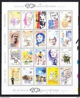 België 1999 Blok Nr 83 (nr 2858/77) **, Zeer Mooi Lot 3758 - Collections (without Album)