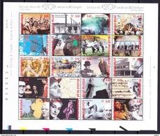 België 2000 Blok Nr 87 (nr 2943/62) **, Zeer Mooi Lot 3759 - Collections (sans Albums)