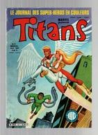 Titans N°51La Guerre Des étoiles - Machine-Man - Mikros - Dazzler - Histoire Des Jeux Olympique - Titans
